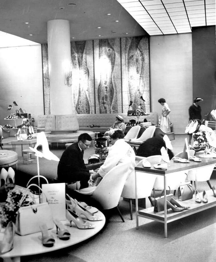 The downtown Seattle Nordstrom store, May 18, 1961. Photo: Seattlepi.com File