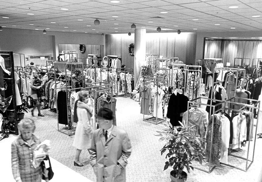 Nordstrom shortly after the new downtown Seattle building opened, Nov. 1972. Photo: Seattlepi.com File