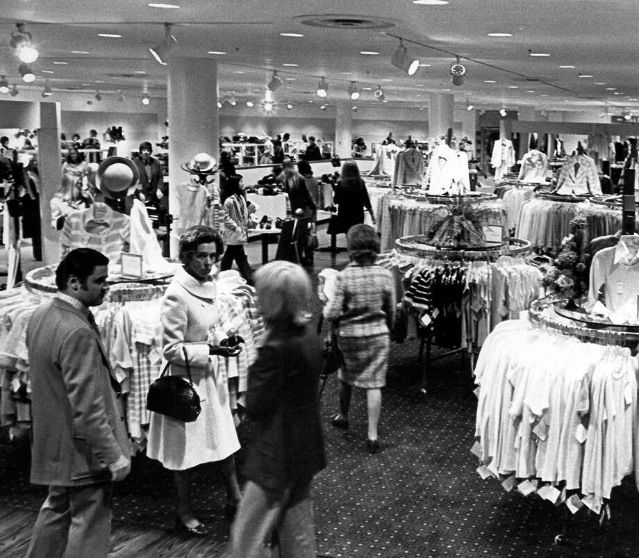 The downtown Seattle Nordstrom store that opened in Nov. 1972. Photo: Seattlepi.com File