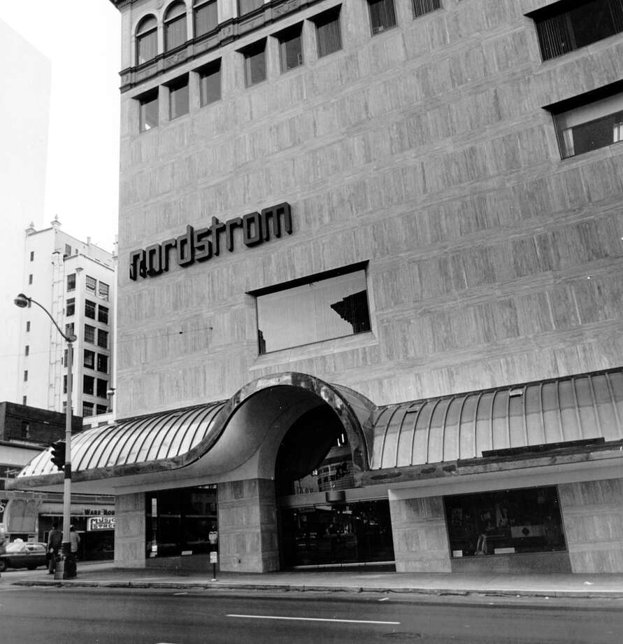 The downtown Seattle Nordstrom in an undated photo.  Photo: Seattlepi.com File