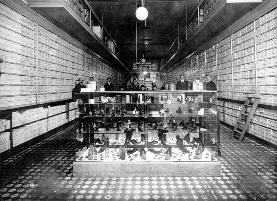 Nordstrom and Wallin shoes, 1910. Photo: Seattlepi.com File