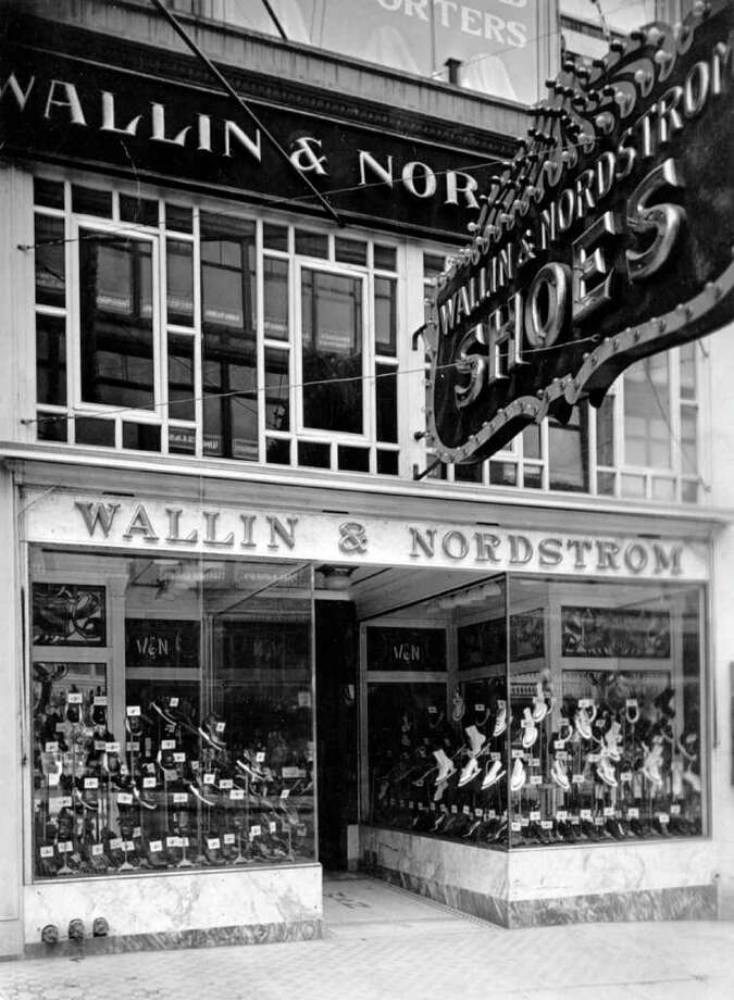 The Second Avenue Wallin & Nordstrom shoe store, 1916. Photo: Seattlepi.com File