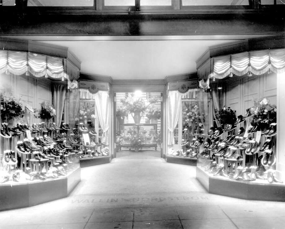 The second Nordstrom store on University Way Northeast, better known as The Ave, 1925. The store was opened in 1923. Photo: Seattlepi.com File