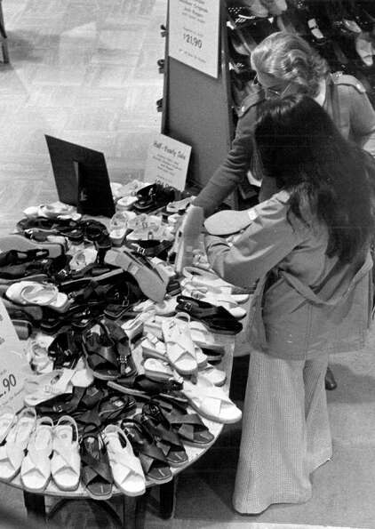 A scene from a Seattle Nordstrom store, May 28, 1976.