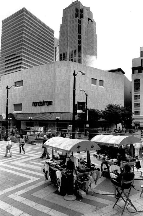 Nordstrom's old Westlake location on Aug. 23, 1989, before it moved to the old Frederick and Nelson building. Photo: Seattlepi.com File