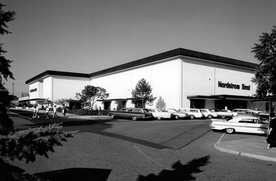 The Nordstrom Best store at Bellevue Square, 1967. Photo: Seattlepi.com File