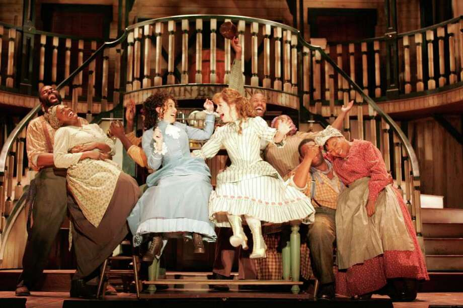 """The classic Jerome Kern Oscar Hammerstein musical about show business life on the Mississippi River - """"Show Boat"""" - is running at the Goodspeed Opera House in East Haddam through Sept. 17. Photo: Contributed Photo"""