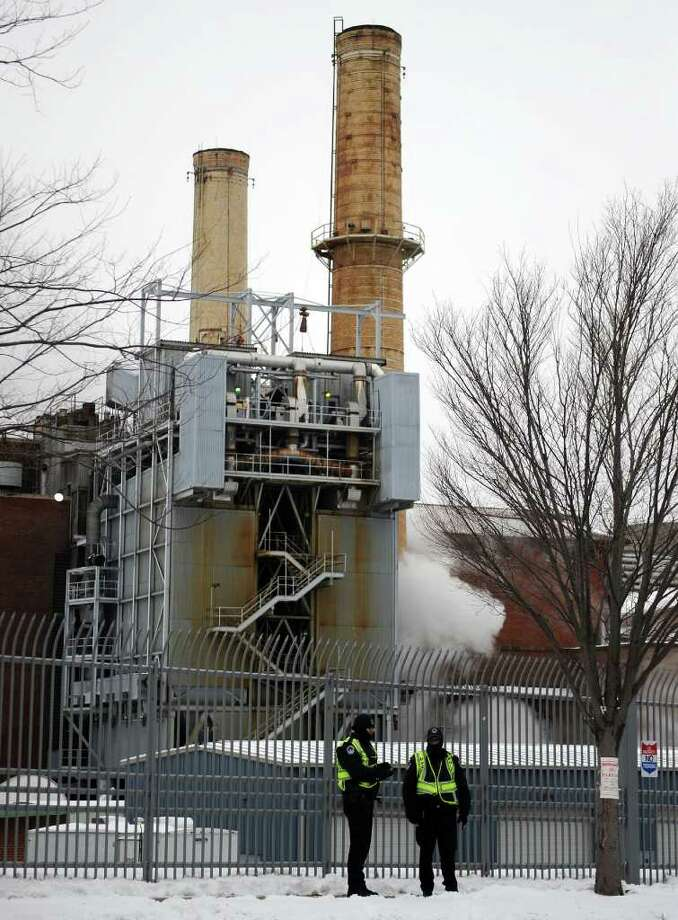 The Capitol Power Plant on March 2, 2009 in Washington, DC.   TIM SLOAN/AFP/Getty Images Photo: TIM SLOAN / AFP