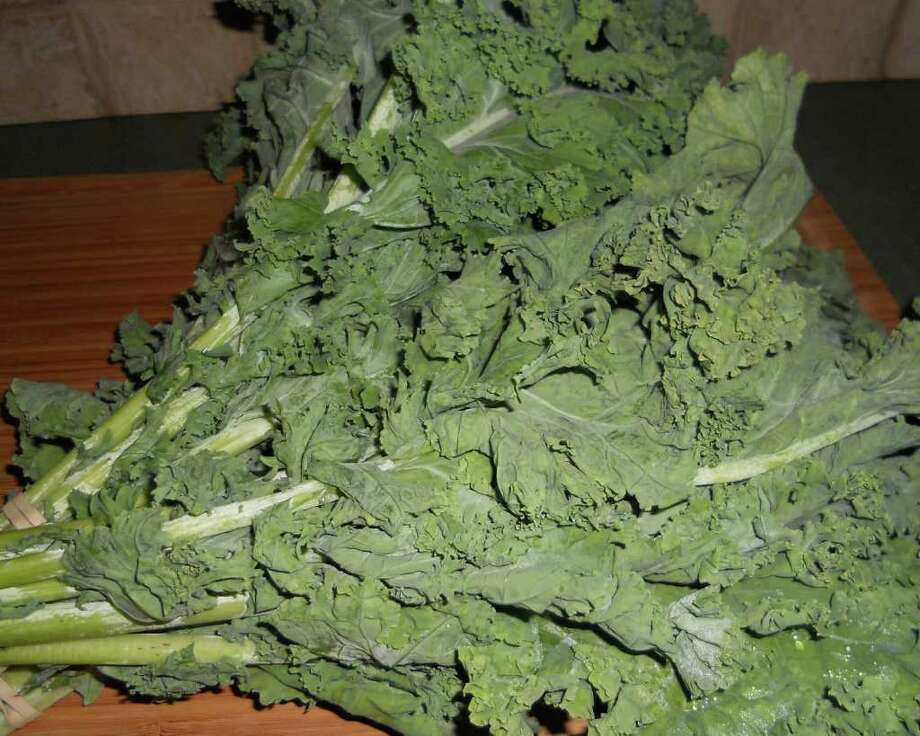 Kale, besides being healthy, can be surprisingly tasty too. Photo: Contributed Photo/Patti Woods, Contributed Photo / Westport News contributed