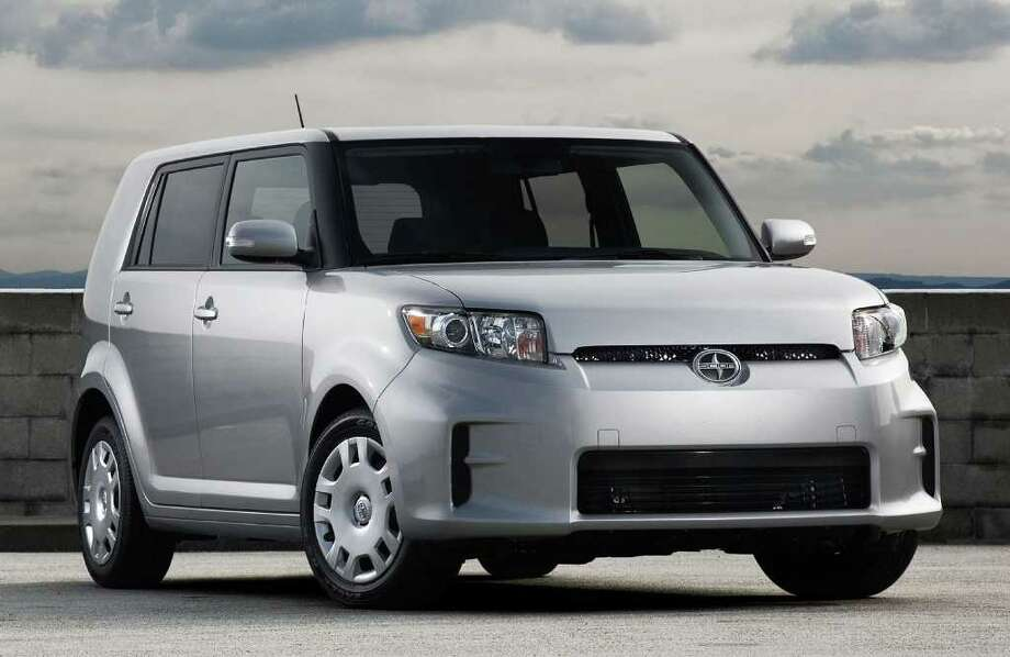 The 2012 Scion xB five-passenger crossover starts at $16,300 (plus $720 freight) with a manual transmission and $17,250 with an automatic. COURTESY OF TOYOTA MOTOR SALES U.S.A. Photo: Toyota Motor Sales U.S.A., COURTESY OF TOYOTA MOTOR SALES U.S.A.