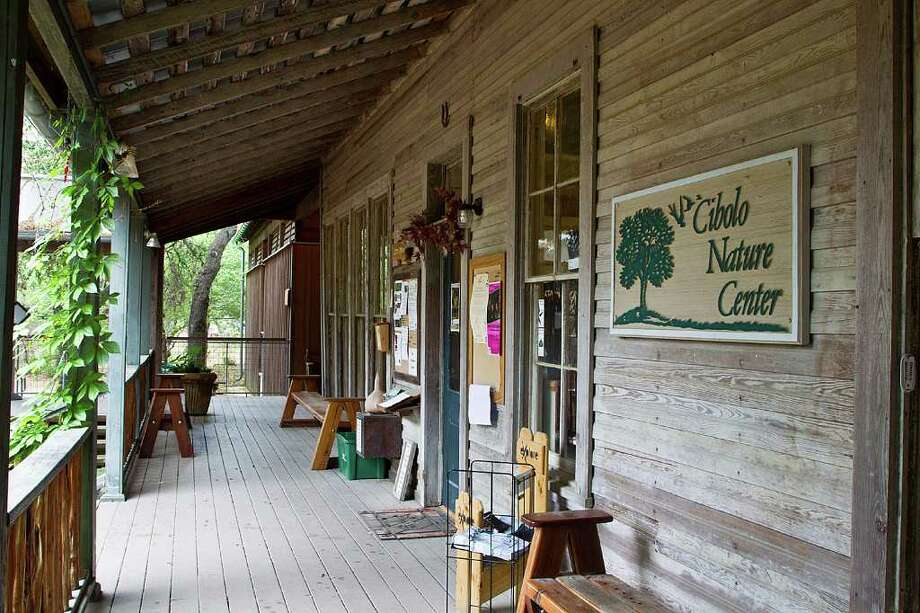 The shady porches at the Cibolo Nature Center are a great place to watch birds and enjoy the sounds of nature.  Photo Credit:  Kathy Adams Clark.  Restricted use. Photo: Kathy Adams Clark / Kathy Adams Clark/KAC Productions
