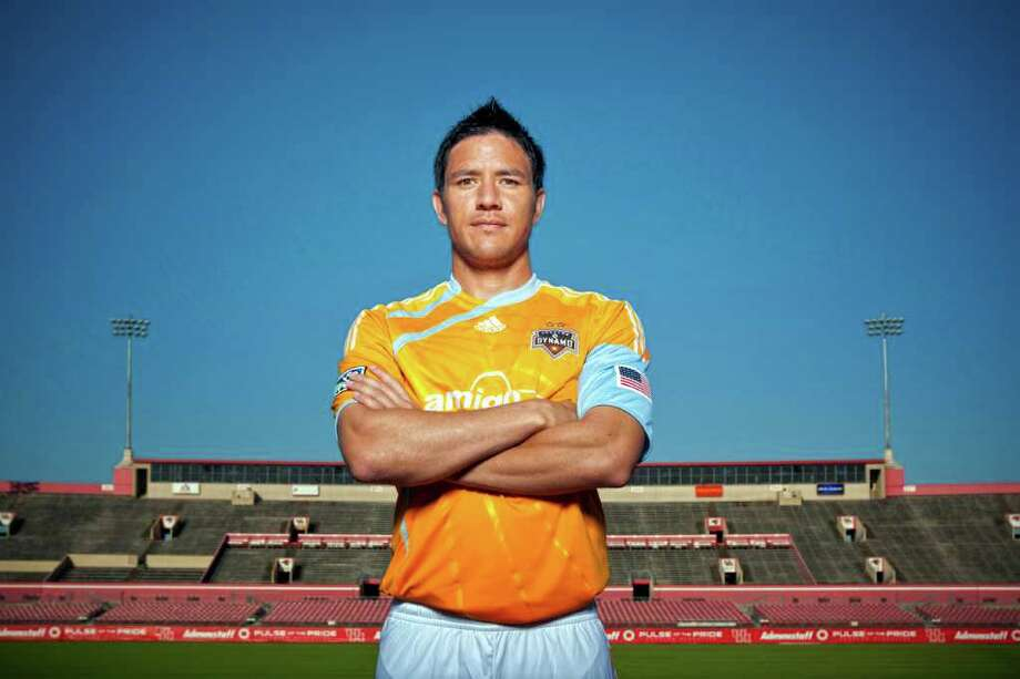Brian Ching scored seven goals during the 2010 season. (Todd Spoth/Houston Chronicle) Photo: TODD SPOTH / Freelance