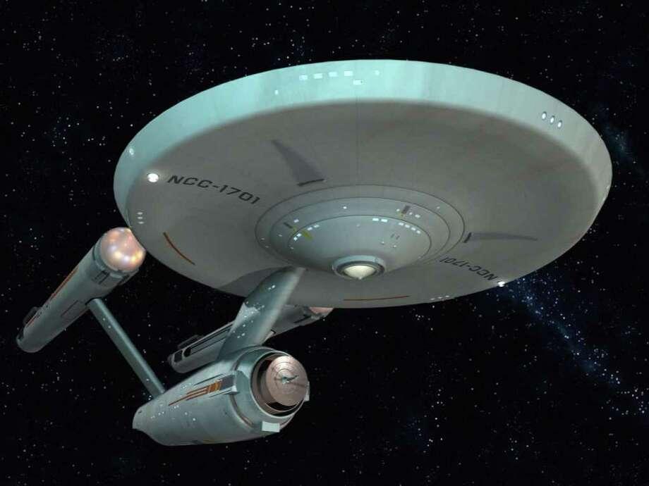U.S.S. Enterprise NCC-1701, from Star Trek (original series) / handout