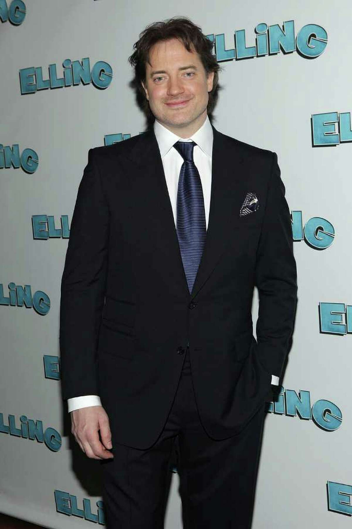 """Brendan Fraser, pictured in November 2010 attending the after party for the Broadway opening night of """"Elling,"""" was spotted Thursday at the Ginger Man on Greenwich Avenue. (Photo by Roger Kisby/Getty Images)"""
