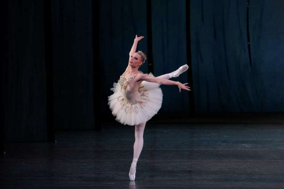 """Sara Mearns in """"Diamonds""""  from JEWELS Choreography by George Balanchine New York City Ballet (Paul Kolnik) Photo: Paul Kolnik / ©2008 Paul Kolnik"""
