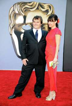 LOS ANGELES, CA - JULY 09:  Actor Jack Black (L) and Tanya Haden arrive at the BAFTA Brits To Watch event held at the Belasco Theatre on July 9, 2011 in Los Angeles, California. Photo: Kevork Djansezian, Getty Images / 2011 Getty Images
