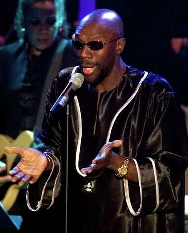Singer Isaac Hayes  Photo: MIKE SEGAR, REUTERS / X90033