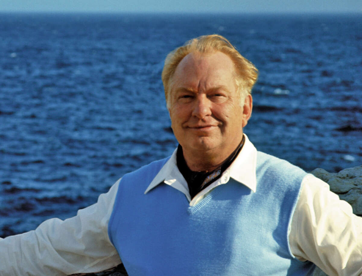 This photo released by the L. Ron Hubbard Library, shows Church of Scientology founder L. Ron Hubbard in May 1968 in the south of France.