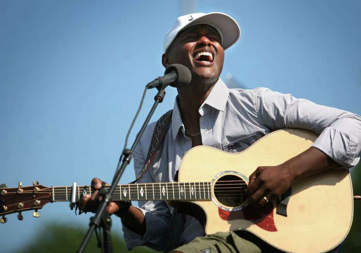 Javier Colon, Stratford native and winner of the television singing competition