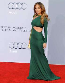 Jennifer Lopez poses at the inaugural BAFTA Brits to Watch 2011 event at the Belasco Theater in Los Angeles, Saturday, July 9, 2011. Prince William and Kate, the Duke and Duchess of Cambridge, attended the event as part of their three-day visit to California. (AP Photo/Chris Pizzello) Photo: Chris Pizzello