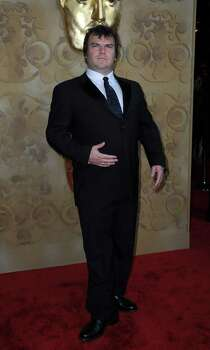 Actor Jack Black arrives at the British Academy of Film and Television Arts (BAFTA) inaugural ''Brits to Watch'' dinner at the Belsaco Theater in downtown Los Angeles July 9, 2011. (AP Photo/Valerie Macon, pool) Photo: VALERIE MACON