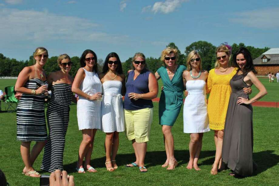 Greenwich held their polo match on July 10, 2011. Photo: Lauren Stevens/Hearst Connecticut Media Group