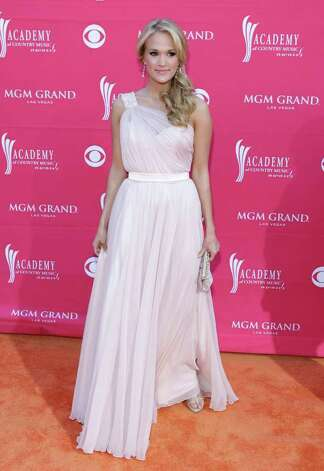 Carrie Underwood arrives at the 44th Annual Academy of Country Music Awards in Las Vegas on Sunday, April 5, 2009. Photo: Jae C. Hong, AP / AP
