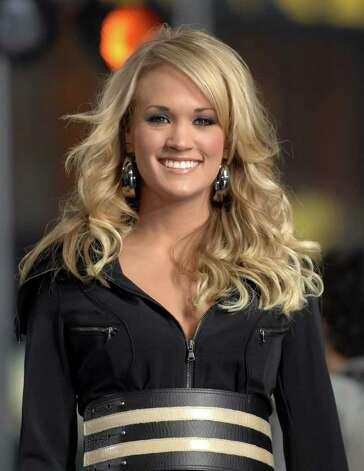 "Singer Carrie Underwood appears on the ""Good Morning America"" fall concert series in Times Square, Tuesday Oct. 23, 2007 in New York. Photo: Peter Kramer, AP / KRAPE"