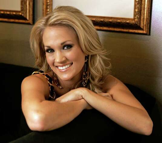 "Carrie Underwood is photographed at the Grand Ole Opry in Nashville, Tenn., Oct. 9, 2007. The former ""American Idol"" winner admits to having a few butterflies before the release of her second album, ""Carnival Ride,"" which follows her debut album, ""Some Hearts,"" that sold 6 million copies. Photo: Mark Humphrey, AP / AP"