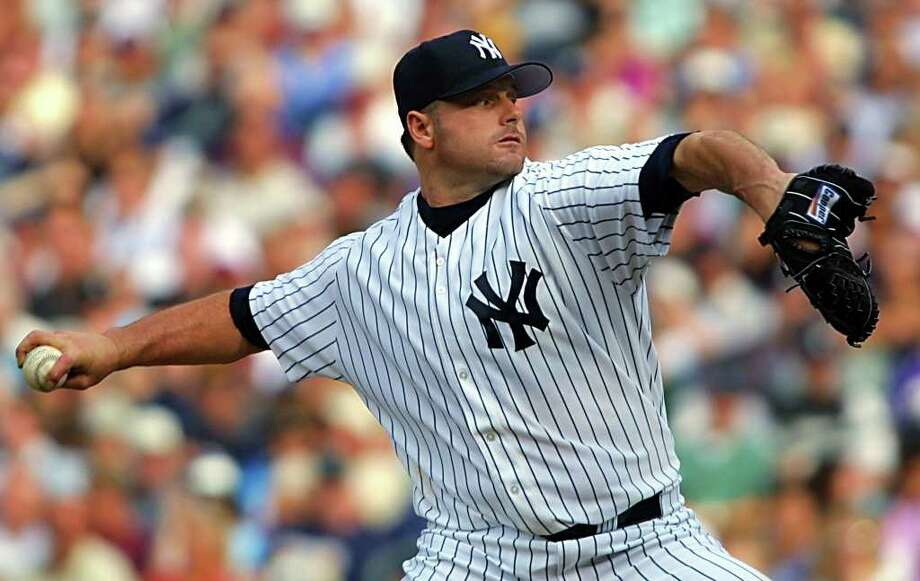 SEATTLE, UNITED STATES:  American League starting pitcher Roger Clemens of the New York Yankees throws during the first inning of the baseball All-Star game 10 July, 2001 at Safeco Field in Seattle, Washington.    AFP PHOTO/Dan LEVINE Photo: DAN LEVINE, AFP/Getty Images / AFP