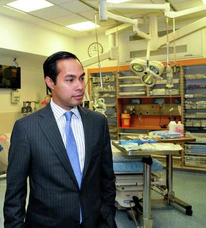 Mayor Julian Castro and a delegation of San Antonio Texas business and community leaders visited the Hadassah University Medical Center in Jerusalem as part of their Economic Study Mission to Israel. Photo: COURTESY PHOTO, Express-News