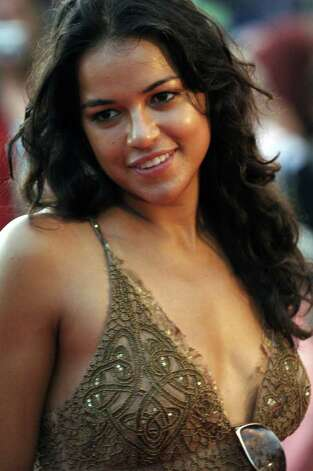 "Michelle Rodriguez (""Lost"") was born in San Antonio in 1978. Photo: LUCY PEMONI, AP / AP"
