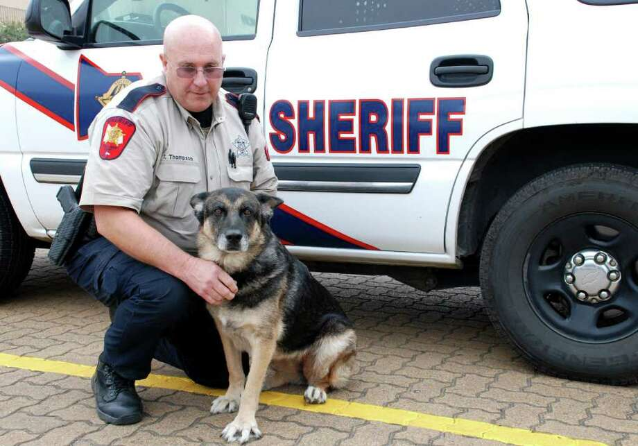 Montgomery County Sheriff's Office Deputy Tom Thompson says Bianca is the best partner a deputy could have. They have worked together as a K-9 narcotics unit at the MCSO for the past five years.