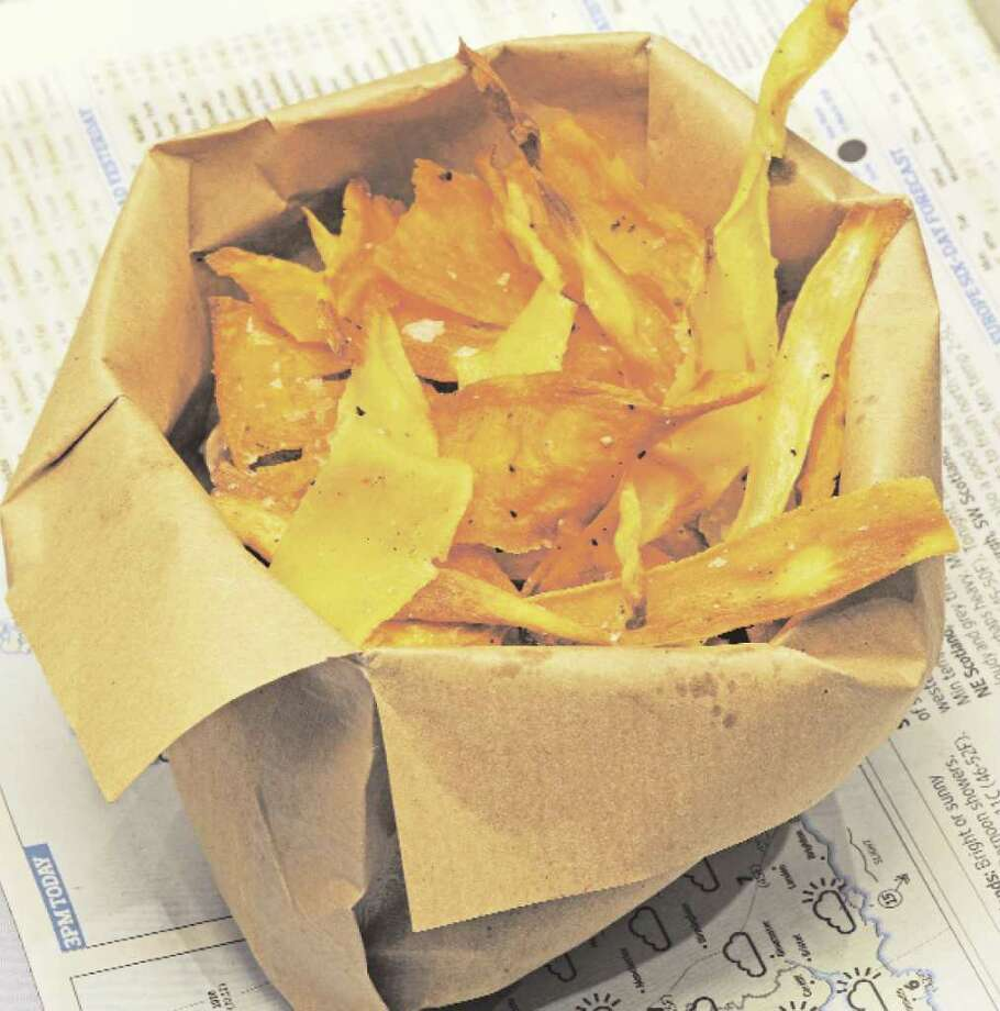 Vegetable Chips from the book homemade by Clodagh McKenna Photo: Alberto Peroli