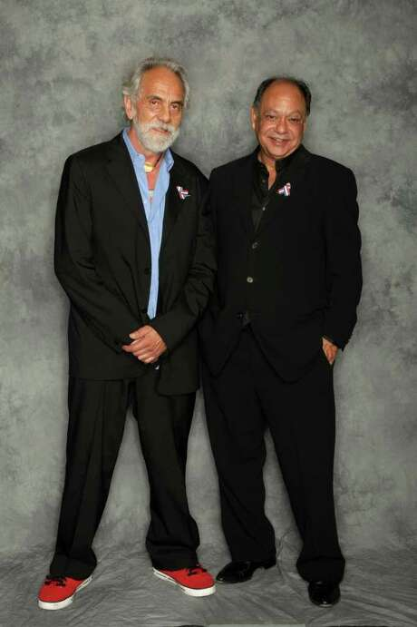 Cheech Marin (right), with Tommy Chong  Photo: File Photo, Getty Images / 2008 Getty Images
