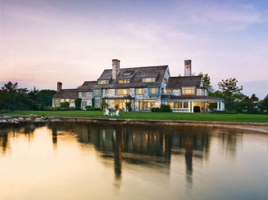 Located in Old Saybrook, CT, Katharine Hepburn's majestic former residence is on the market for $28M. Photo: Dennis M. Carbo