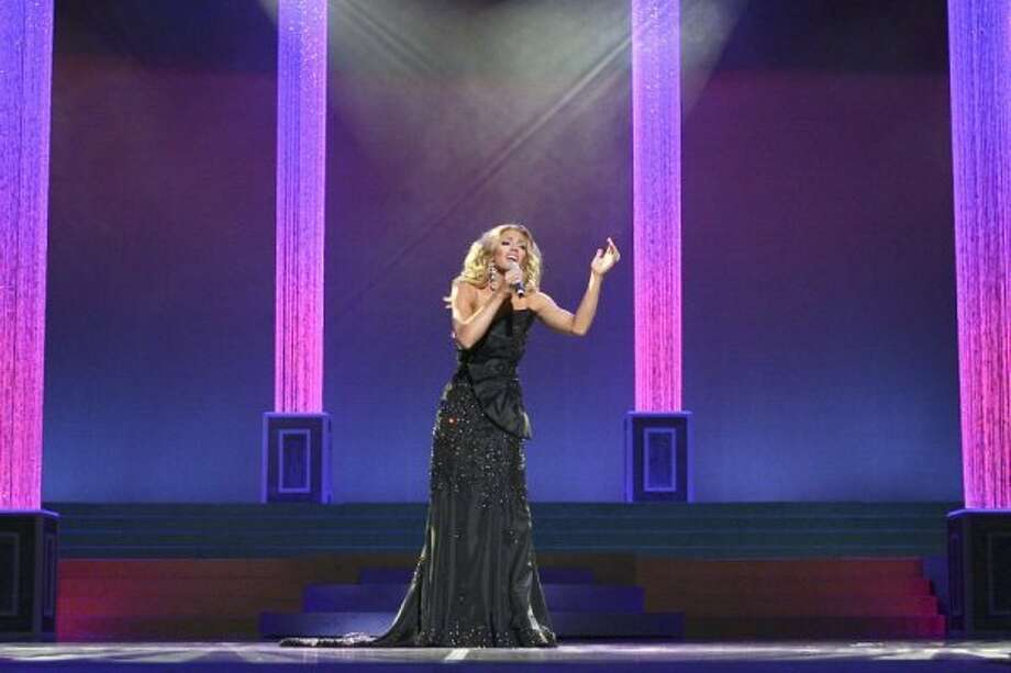 Rachael Turner of Sugar Land sings in the Miss Texas Scholarship Pageant. Photo: Bob Barker