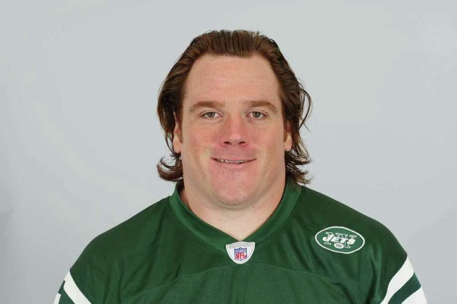 This is a 2009 photo of Alan Faneca of the New York Jets NFL football team. This image reflects the New York Jets active roster as of Thursday, April 30, 2009 when this image was taken. (AP Photo) Photo: Anonymous / AP