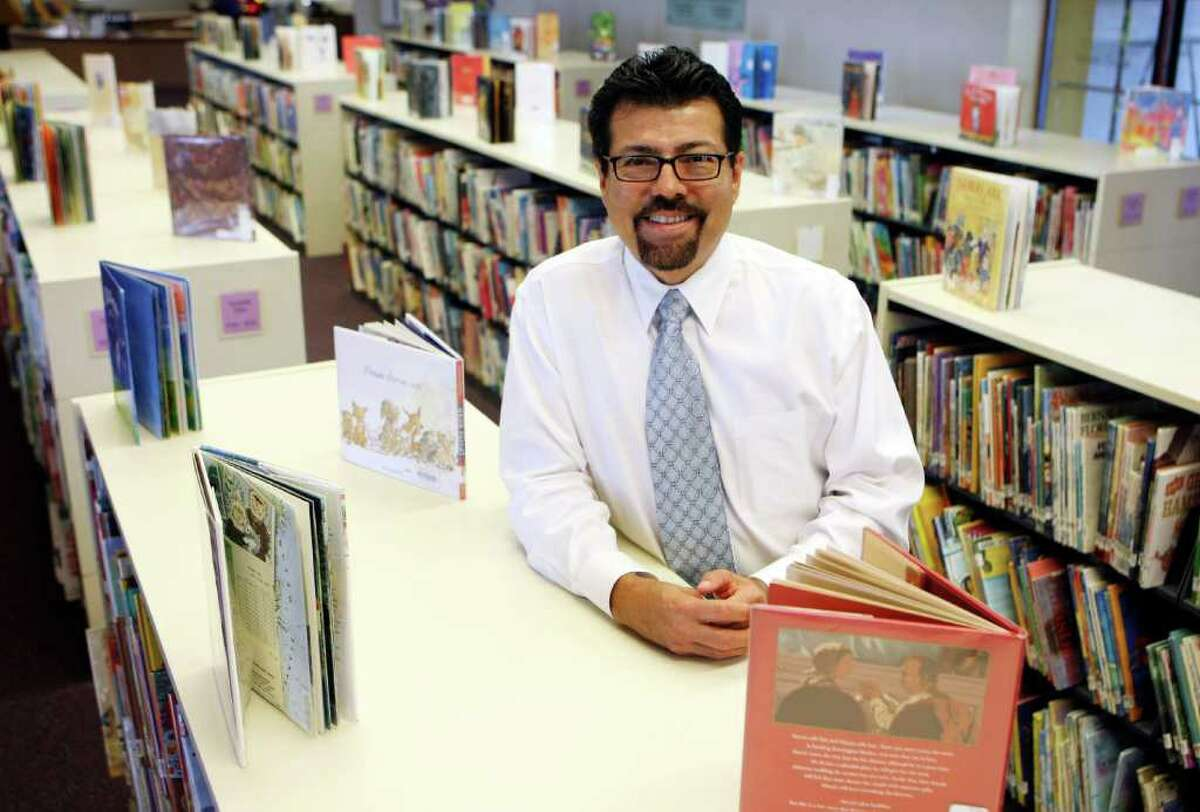 Ramiro Salazar is the first Latino to serve as the library director of San Antonio's public library system. The Del Rio native has more than 30 years of experience in the profession and was the first Latino library director in the El Paso and Dallas library systems, too.