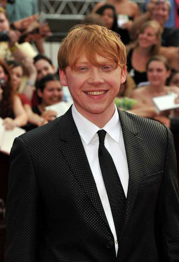 "Actor Rupert Grint attends the New York premiere of ""Harry Potter And The Deathly Hallows: Part 2"" at Avery Fisher Hall, Lincoln Center on July 11, 2011 in New York City. Photo: Stephen Lovekin, Getty Images / 2011 Getty Images"