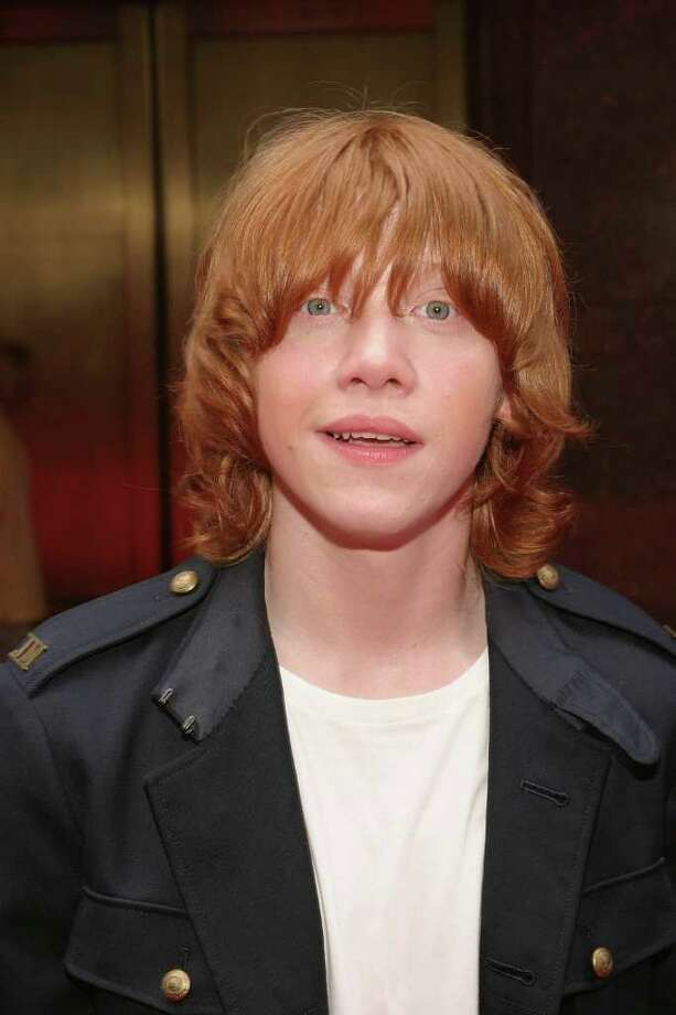 Actor Rupert Grint attends the Premiere of Harry Potter And The Prisoner of Azkaban at Radio City Music Hall on May 23, 2004 in New York City. Photo: Thos Robinson, Getty Images / 2004 Getty Images