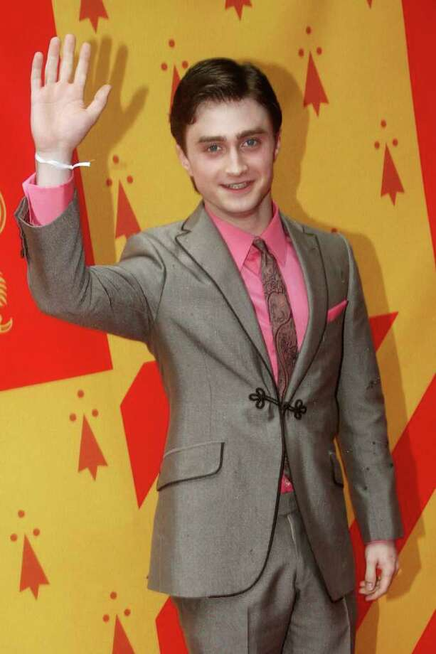Daniel Radcliffe attends the world premiere of 'Harry Potter and the Half Blood Prince' held at the Odeon Leicester Square on July 7, 2009 in London, England.  Photo: Dave Hogan, Getty Images / 2009 Getty Images