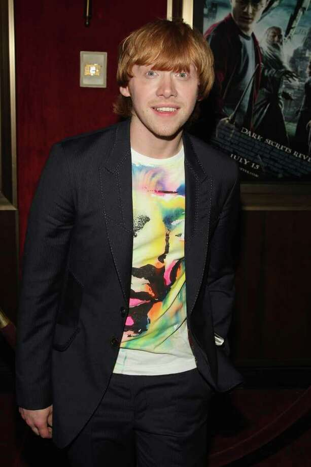 "Actor Rupert Grint attends the ""Harry Potter and the Half-Blood Prince"" premiere at Ziegfeld Theatre on July 9, 2009 in New York City.  Photo: Stephen Lovekin, Getty Images / 2009 Getty Images"