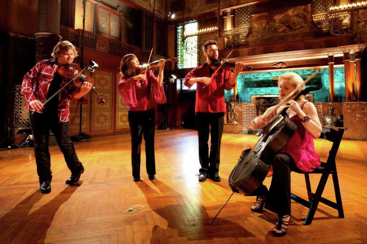 The New York City-based string quartet Ethel will present a concert at Silvermine Arts Center at 8 p.m., Friday, July 15. The group's members are Ralph Farris, viola; Jennifer Choi, violin; Cornelius Dufallo, violin; and Dorothy Lawson, cello. Reservations for the performance are suggested. For more information, visit www.silvermineart.org. Contributed photo/James Ewing