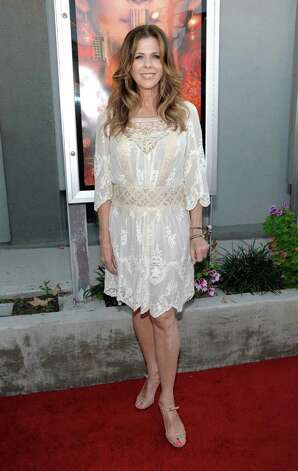 "Actress Rita Wilson arrives at the premiere of the feature film ""Snow Flower and the Secret Fan"" in Los Angeles on Monday, July 11, 2011.  The film opens in theaters on July 15.  (AP Photo/Dan Steinberg) Photo: Dan Steinberg"