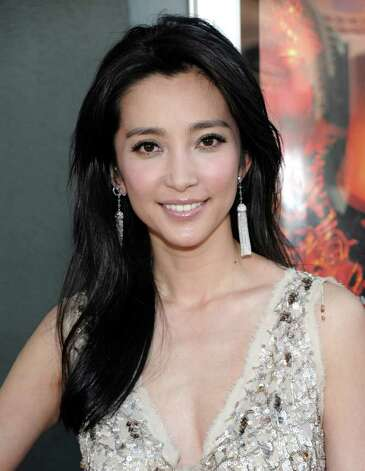 "Actress Li Bingbing arrives at the premiere of the feature film ""Snow Flower and the Secret Fan"" in Los Angeles on Monday, July 11, 2011.  The film opens in theaters on July 15.  (AP Photo/Dan Steinberg) Photo: Dan Steinberg"