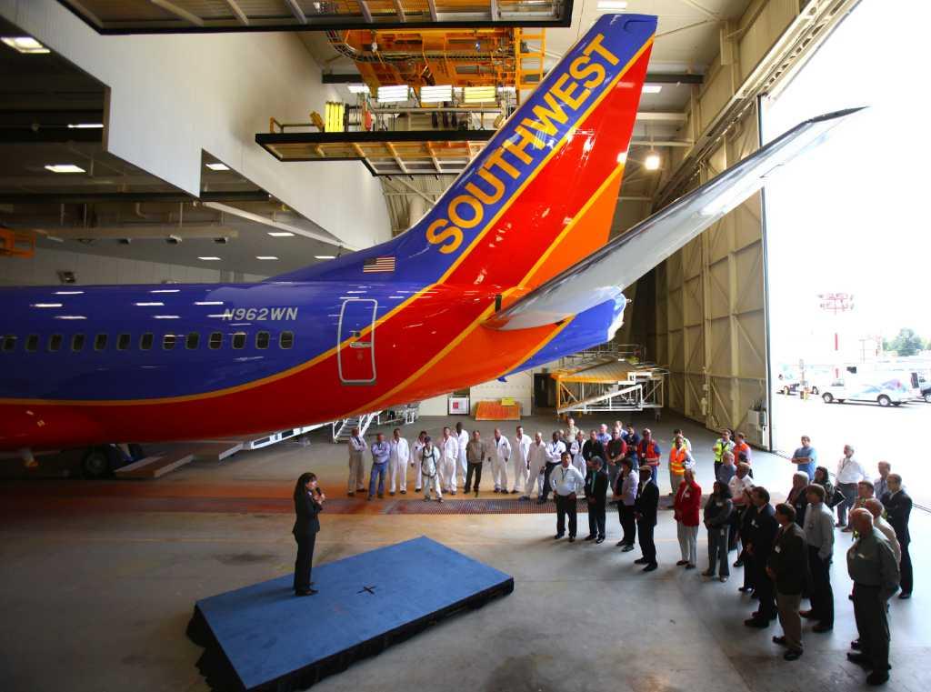 Boeing S New Renton Paint Hangar Seattlepi Com