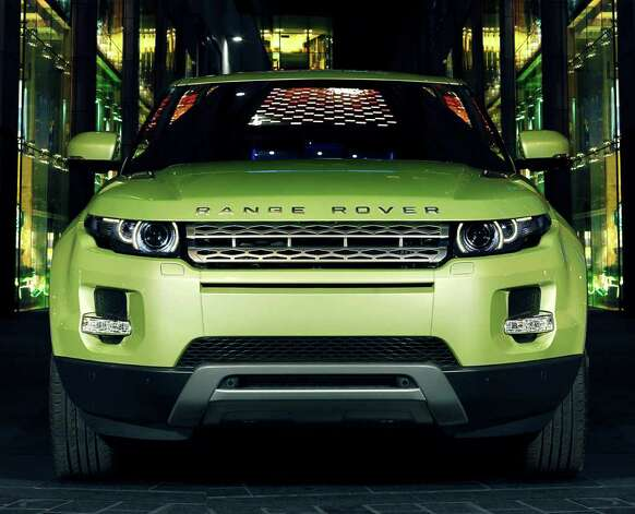 The Range Rover Evoque has an athletic front-end stance that gives a strong hint of its sporty handling, the automaker says.  COURTESY OF JAGUAR LAND ROVER NORTH AMERICA Photo: Jaguar Land Rover North America, COURTESY OF JAGUAR LAND ROVER NORTH AMERICA