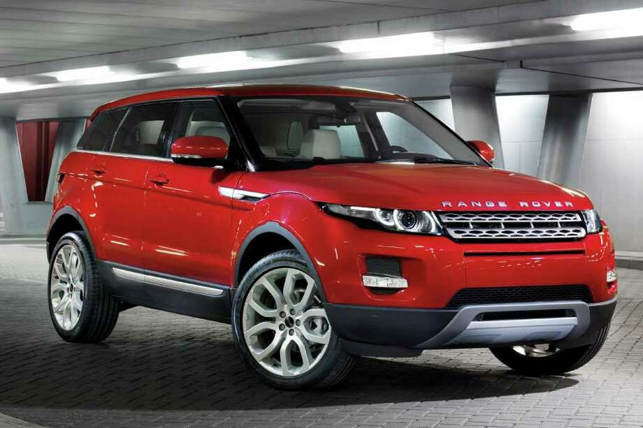 The five-door version of the 2012 Range Rover Evoque has rear passenger doors and will be the least expensive Range Rover model, starting at $43,995. COURTESY OF JAGUAR LAND ROVER NORTH AMERICA Photo: Jaguar Land Rover North America, COURTESY OF JAGUAR LAND ROVER NORTH AMERICA