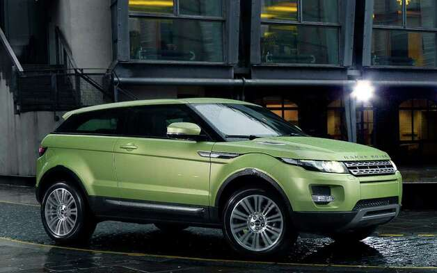 "The all-new Evoque is billed as the ""smallest, lightest, most fuel-efficient Range Rover ever."" It goes on sale this fall with a starting price of $43,995 for the sedan and $44,995 for the coupe, shown here. COURTESY OF JAGUAR LAND ROVER NORTH AMERICA Photo: Jaguar Land Rover North America, COURTESY OF JAGUAR LAND ROVER NORTH AMERICA"